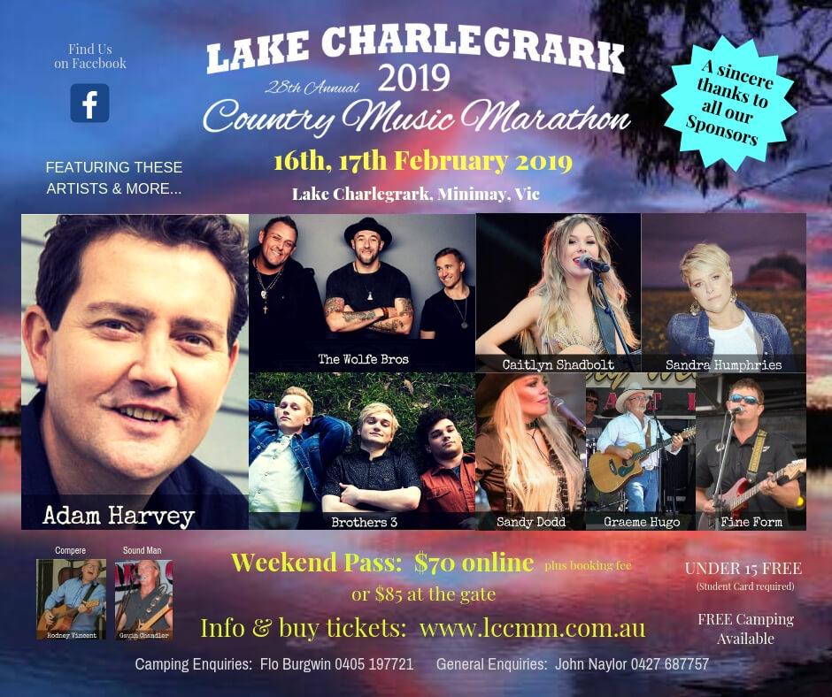 Lake Charlegrark Country Music Marathon